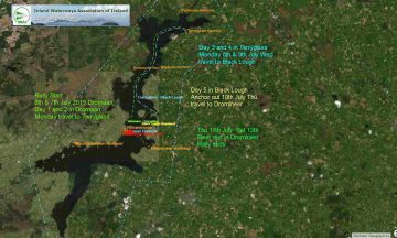 Lough Derg  IWAI Rally; © esri