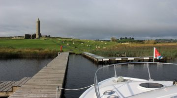 Devenish Island Jetty East Lough Erne; © esri
