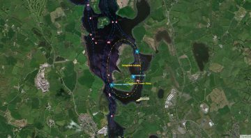 Devenish Island Jetty © esri; click picture to ArcGis-Map