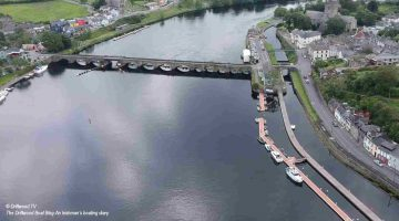 Video Boating in Ireland –Out of Killaloe Driftwood.TV