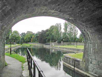 Mullingar, Scanlan's Bridge an the Royal Canal; © AJ Vosse