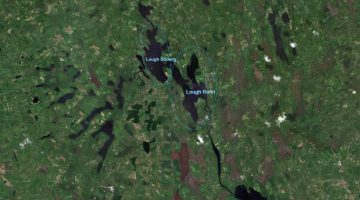 Lough Bofin and Boderg © esri