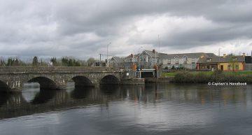 Rooskey Lifting Bridge;© Captain's Handbook