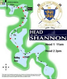 © Carrick Rowing Club's 'Head of the Shannon