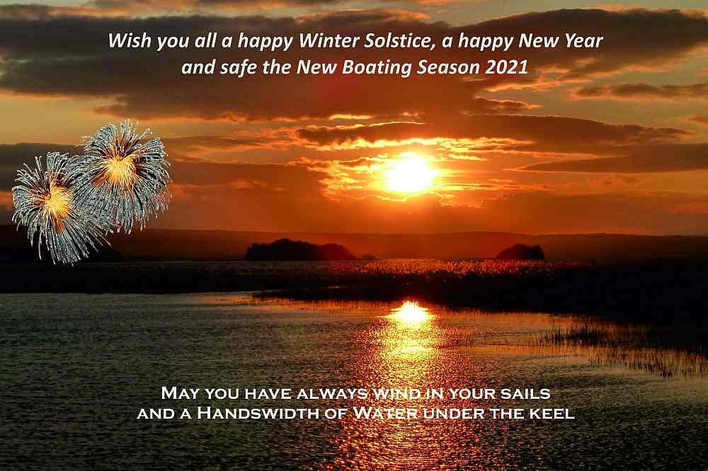 Season's Greetings and New-Year 2021 © Captain's Handbook