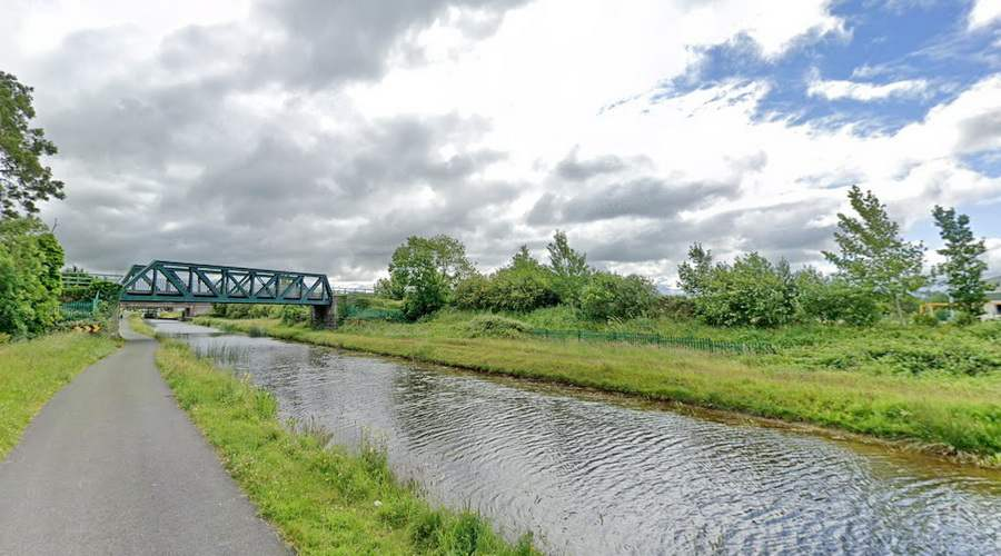 The Rail Bridge West of Tullamore