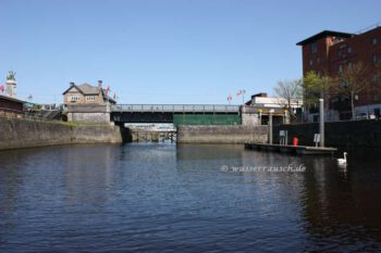 Sarsfields Lock view upstream; © CHB