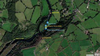 "Clashganna Lock-River Barrow; © esri; click to Arcgis Map ""Clashganna Lock River Barrow"""