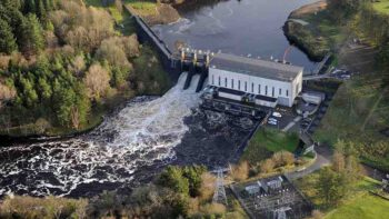 ESB Hydro Power station at Cliff; ©ESB link to ArcGis-Map
